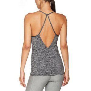 Nike Heather Grey Dri-Fit Strappy Tank Top Shirt